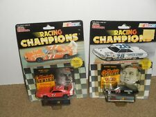 2 BOBBY ISAAC RACING CHAMPIONS 1/64 DIECAST COLLECTORS SERIES FORD & DODGE -