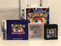 Nintendo Gameboy Pokemon Trading Card Game With Manual Box Authentic Game Tested