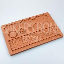 Quilted Lace Multi Mat Silicone Mould Cake Decoration Sugarcraft Fondant