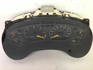 2001 GMC Jimmy Speedometer