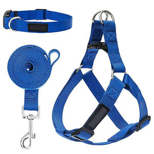 Easy Dog 3 in 1 Harness Leash Small Medium Step In Front Clip Stops Puppy Pet