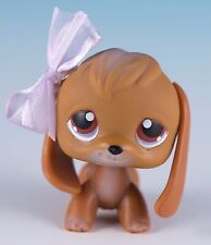 Littlest Pet Shop Beagle #16 Brown With Brown Eyes