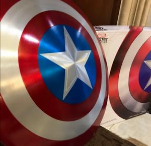 1:1 Avengers Metal Shield 75th Anniversary Captain America Shield Replica