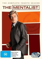 The Mentalist : Season 4 (DVD, 2012, 5-Disc Set)  Brand new Genuine & Sealed D71