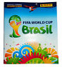 Panini FIFA World Cup 2014 Brazil Brasil Sticker Album and 6 Starter Stickers