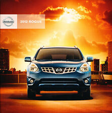 2012 Nissan Rogue 34-page Original Sales Brochure Catalog