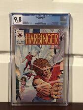 """Harbinger #2 (1992) CGC 9.8  White Pages  Shooter - Lapham - Dixon  1st """"Rock"""""""