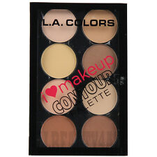 LA COLORS CONTOUR PALETTE - Light to Medium (Long lasting, natural look)