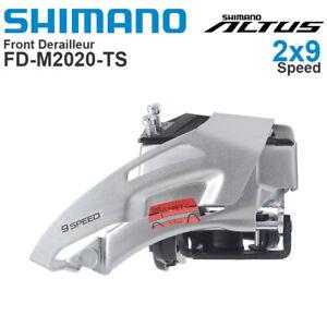 Shimano Altus FD-M2020 2x9 Speed MTB Bike Front Derailleur 31.8mm Dual Pull
