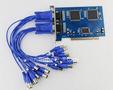 16CH DVR BNC PCI Capture Card 16 Channel CCTV Security Home SURVEILLANCE