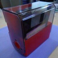 "3.5"" Floppy Disk Holder Holds 10 Storage Box Data Case Diskette Vintage Portable"