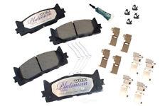 Disc Brake Pad Set-Ceramic Pad Kit with Hardware Front Autopartsource VP1293K
