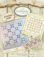 Quilt Pattern ~ FARMHOUSE COLLECTION - PLANTING SEEDS ~ Acorn Quilt & Gift Co.