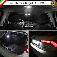 LED INTERNI ABITACOLO FIAT TIPO 5 PORTE + LED TARGA CANBUS 6000K BIANCO GHIACCIO