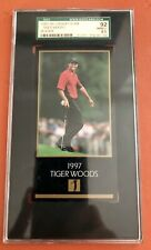 TIGER WOODS 1997 GRAND SLAM VENTURES ROOKIE SGC 92 8.5 NM-MINT CONDITION