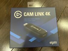 Elgato Cam Link 4K Black HD Recording Streaming BRAND NEW | FAST SHIP | IN HAND