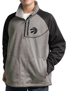 G-III Sports Toronto Raptors Youth Boys Mountain Trail Half Zip Pullover Jacket