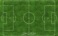 Soccer Field Edible Image Icing Sheet Soccer Cake Topper