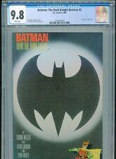 1986 DC BATMAN: THE DARK KNIGHT RETURNS #3 FRANK MILLER DEATH OF JOKER CGC 9.8