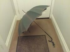 Stunning Vintage Paragon S. Fox & Co Parasol with leather handle Ed Watling