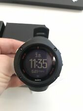 Suunto Ambit 3 Run GPS running watch, black, with heart rate monitor