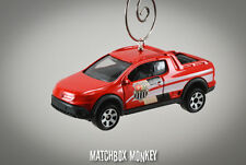 2011 VW Volkswagen Saveiro Cross Pickup Truck Custom Christmas Ornament 1/64