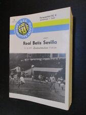 DDR Fußball Programm 14 1.FC Lok Leipzig - Real Betis Sevilla EC Europacup 1977