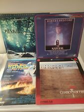 LASERDISC LOT OF 8 - Wizards of Oz, The Natural, To Kill a Mockingbird, Chariots