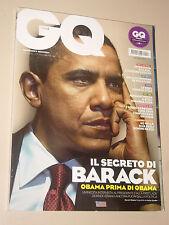 BARACK OBAMA=SLASH GUNS N' ROSES=MIRANDA KERR=ORIGONE SIMONE=MAGAZINE GQ 2010