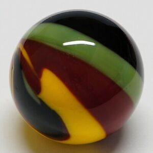 "Winlock Marbles ~ Handmade Glass Marbles ~ Lampwork Art Marble ~ 3/4"""