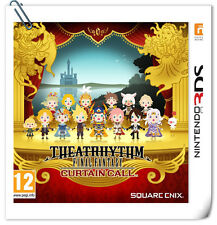 3DS Theatrhythm Final Fantasy: Curtain Call NINTENDO Music Games Square Enix