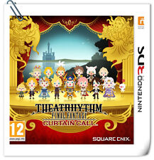 3DS NINTENDO Theatrhythm Final Fantasy: Curtain Call Music Square Enix