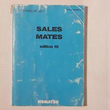 KOMATSU Sales Mate Edition 18 HESM0018