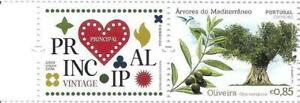 PORTUGALCORPORATE LOGO TREES OF THE MEDITERRANEAN STAMP - OLIVE TREE - 2017 -