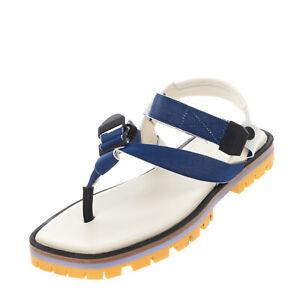RRP €205 PAUL SMITH Slingback Thong Sandals EU 40 UK 7 US 9 Grosgrain Lug Sole