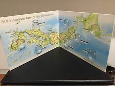 SHINKANSEN 50th Anniversary 100yen JAPAN MINT Coin Album