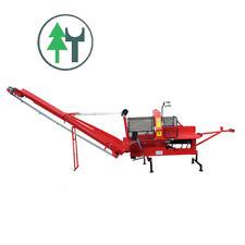 Sägespaltautomat Spaltmaschine Woodking 400Z Holzspalter mit Zapfwelle