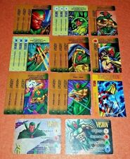 OVERPOWER Vision PLAYER SET 2 hero IQ 20 sp 1 Marvels Intangible Strike