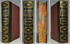 1868 ILLUSTRATED HISTORY of HOLY BIBLE KITTO Color MAP Chronological Table FINE!