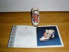 Historic Miniature Shoe Collection ~ Mason's Mandarin ~ Compton & Woodhouse