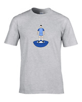 MANCHESTER- Favourite TEAM COLOURS Men's City Personalised Football T-Shirt