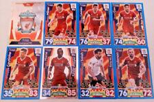 Liverpool Football Trading Cards Single 2017-2018 Season