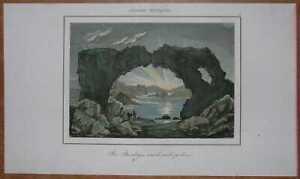 1840 print BASALTIC ROCK IN ARCTIC CIRCLE (#15)