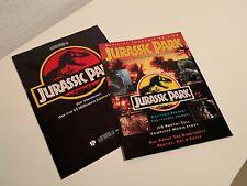 JURASSIC PARK - Universal-Presseheft (1993) & Official US-Souvenirmagazin (1993)