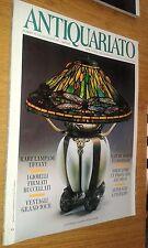 RIVISTA ANTIQUARIATO # 172-LAMPADE TIFFANY-GIOIELLI BUCCELLATI-VENTAGLI-1995
