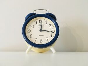 Vintage/Retro Staiger Alarm Clock - 1970/80s - Mechanical/Wind Up-Fully Working
