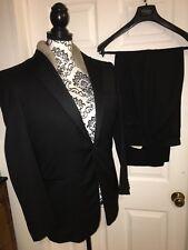 Ermenegildo Zegna Black Evening Suit 2 Pieces 48R
