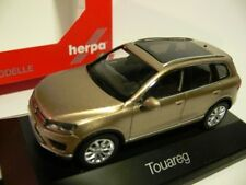 1/43 Herpa VW Touareg arena oro metalizado precio especial 24,99 € en lugar de 39,95 €
