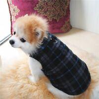 Manteau de chien chaud d'hiver petit animal pull vêtements chiot vêtements veste