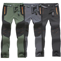 Men Hiking Climbing Combat Tactical Outdoor Sport Work Cargo Pants Trousers 2XL